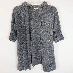 Maurice's Grey Short Sleeve Cardigan size XL